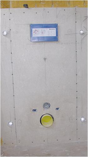 Inbouw toilet plaatsen